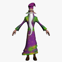 Wizard 3D models