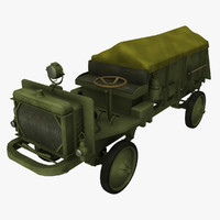 3d 3ds ww1 nash quad truck