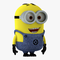 3d minion character despicable
