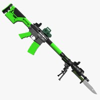 Zombie M16