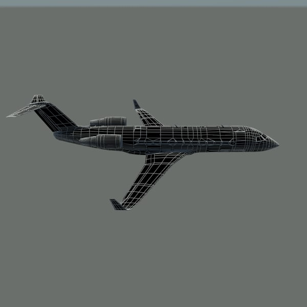 3ds max jet engine - CRJ200... by Beta3D