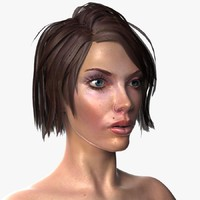 nude female 3d model