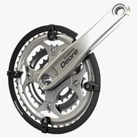 bicycle crankset shimano deore 3d max