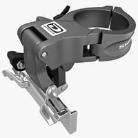 3d model bicycle shifter derailleurs