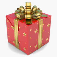 gift box 1 3d x