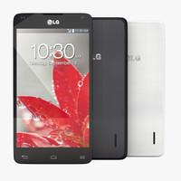 LG Optimus G E973 Black and White