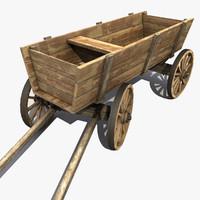 Wooden Cart 3