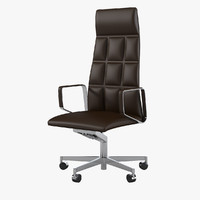 3d walter knoll leadchair model
