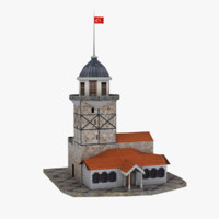 3d model maiden s tower
