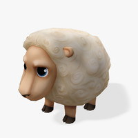 Real-Time Cartoon Sheep