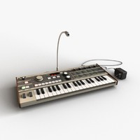 3d synthesizer korg microkorg