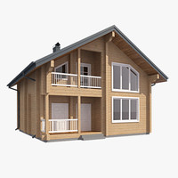 Log House LH GLB 001