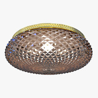 3d chandelier orion nu9-367 gold model