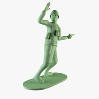 3d toy soldier