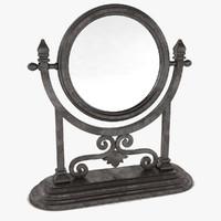 Heller Stand Mirror