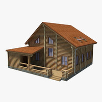 log house 3ds