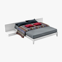 3d model levels bed large