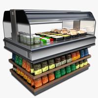 self serve heated merchandiser 3ds