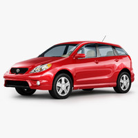 3d model toyota matrix