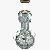 chandelier interior modelled lwo