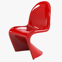 3ds panton chair vitra
