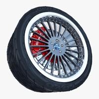 3dsmax hamann wheel