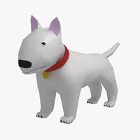 maya bull terrier dog