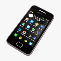 3d samsung galaxy ace smartphone model