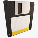 floppy disk 3D models