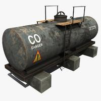CO Oil Tank