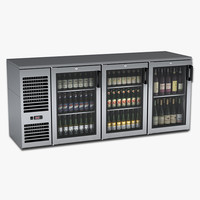 Under Bar Beer and Wine Cooler