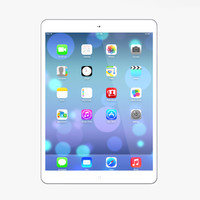 new ipad air silver 3d 3ds
