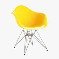 3d eames chair model