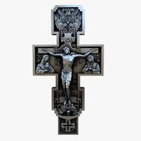 3d crucifixion cnc printing model