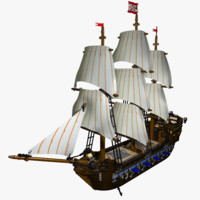 cinema4d imperial flagship ship