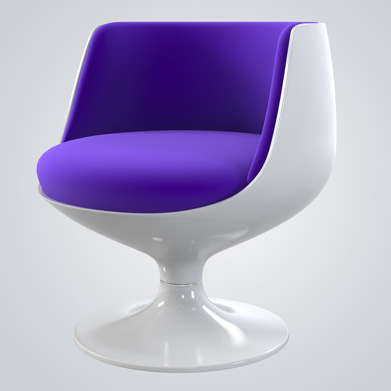 b Cognac Chair By Eero Aarnio accent designer bar chair cafe restaurant modern contemporary seating swivel cosmic hi-tech0001.jpg