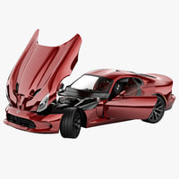 Dodge SRT Viper 2013 Rigged