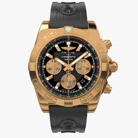 Breitling Chronomat Gold Rubber