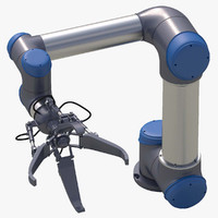 maya robotic arm