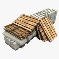 3d modeled materials