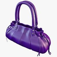 women s handbag 3d model