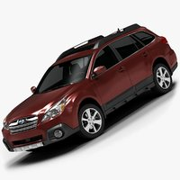 2013 Subaru Outback (Low Interior)