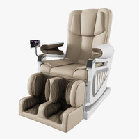 massage chair 3d obj