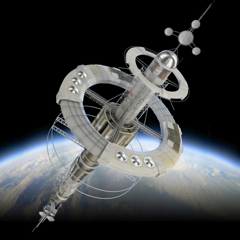 space station 3d models - photo #22