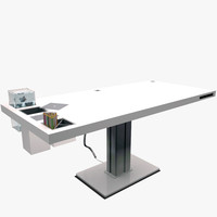 holmris milk desk 3d model