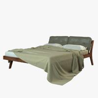 3d bed designed formstelle model
