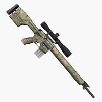 3d ar10 rifle gun