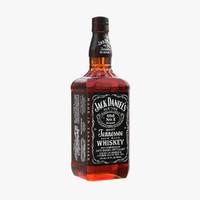 3d model jack daniels