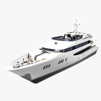 trinity yacht 3d max