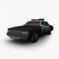3dsmax chevrolet caprice police